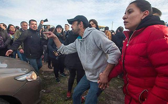 Pedradas y agresiones a Macri y Vidal en un acto oficial en Mar del Plata