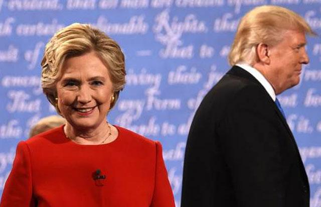 Asperos cruces y ataques entre Hillary y Trump en su primer debate por TV