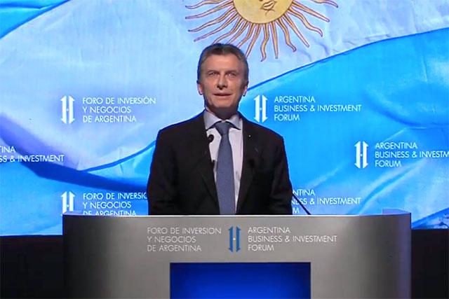 "Macri llamó a los empresarios a invertir: ""Queremos que sean parte de esta etapa maravillosa"""