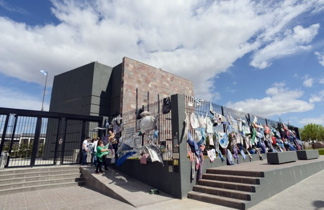Cristina Fernández no asistió al mausoleo en el día de la muerte de Néstor Kirchner - Foto: OPI Santa Cruz/Francisco Muñoz