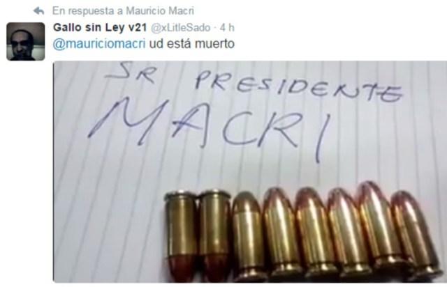 Amenazan de muerte a Mauricio Macri: el Gobierno confirmó que se abrió una investigación