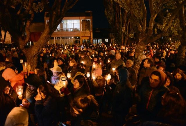 En la Marcha de las Antorchas se pidió la salida de Alicia Kirchner y su gabinete