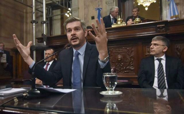 El Jefe de Gabinete Marcos Peña -