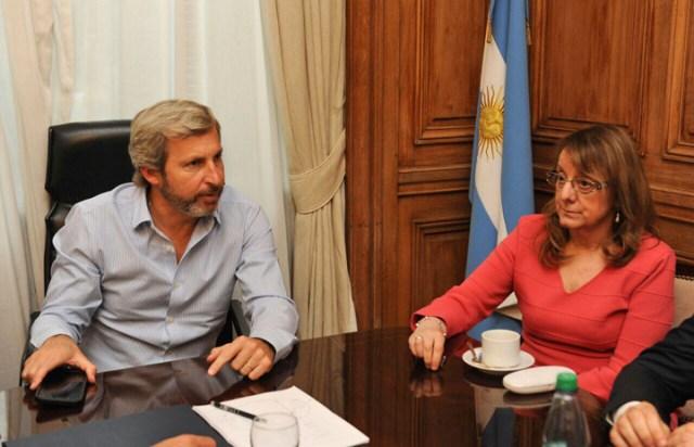 Último momento: Terminada de reunión con Frigerio, no hubo acuerdo