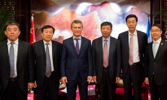Mauricio Macri se reunió con poderosos empresarios chinos que buscan invertir en la Argentina