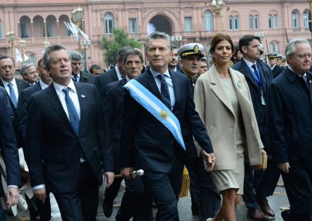 Dura crítica de Macri a gremialistas, jueces y empresarios en el festejo del 25 de Mayo