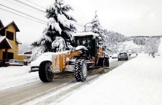 Chubut: por el fuerte temporal de nieve, no hay clases en 60 localidades