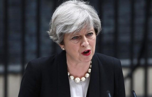 """""""Ya basta"""", advirtió May tras otro ataque reivindicado por EI"""