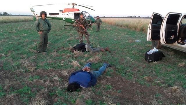 Secuestraron casi dos toneladas de cocaína arrojada de una avioneta en Santiago del Estero