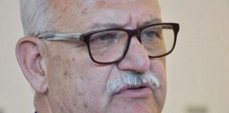 Ricardo Britapaja, ex intendente de Sarmiento internado con respirador por Covid-19