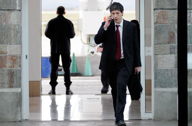 Juan Manuel Abal Medina será el Jefe de Gabinete, el dueño de la pauta - Foto: OPI Santa Cruz/Francisco Muñoz