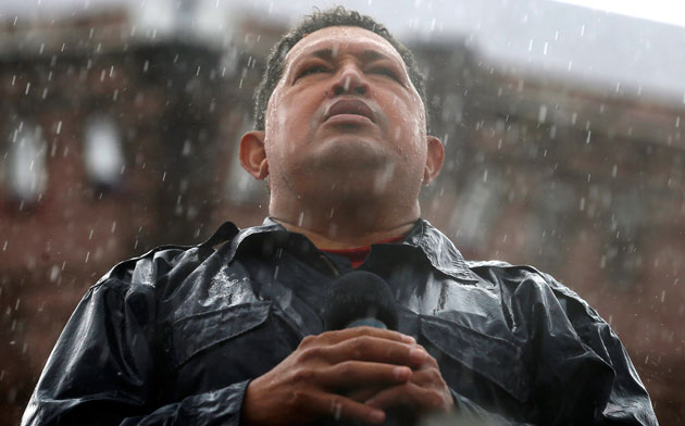 Hugo Chávez - Foto: Jorge Silva/Reuters