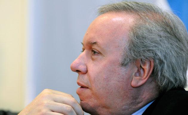 El Gobernador de Santa Cruz, Daniel Peralta - Foto: OPI Santa Cruz/Francisco Muñoz