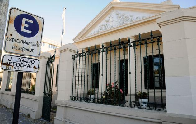 El Juzgado Federal de Río Gallegos - Foto: OPI Santa Cruz/Francisco Muñoz