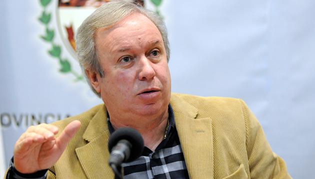 El Gobernador de la provincia de Santa Cruz Daniel Peralta - Foto: OPI Santa Cruz/Francisco Muñoz