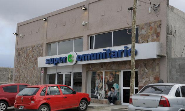 El frente del Super Comunitario de Rudy Ulloa - Foto: OPI Santa Cruz/Francisco Muñoz