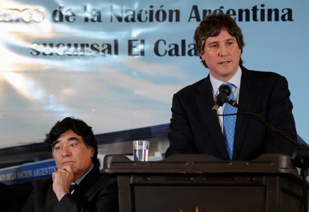 El Vicepresidente de la Nación Amado Boudou en El Calafate - Foto: OPI Santa Cruz/Francisco Muñoz