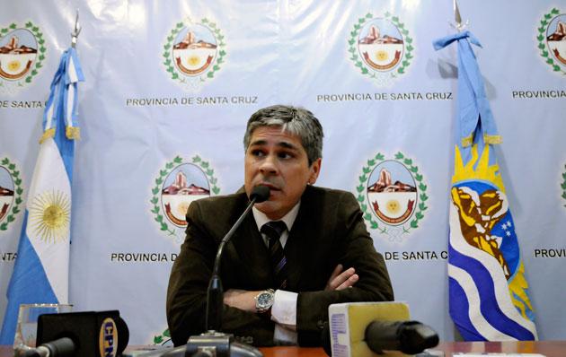 Pablo González  - Foto archivo: OPI Santa Cruz/Francisco Muñoz