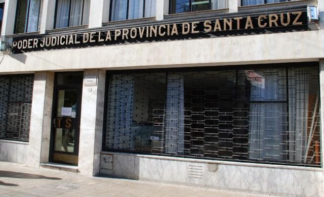 El Superior Tribunal de Justicia de la provincia - Foto: OPI Santa Cruz/Francisco Muñoz