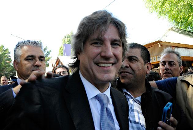 El Vicepresidente de la Nación Amado Boudou - Foto: OPI Santa Cruz/Francisco Muñoz