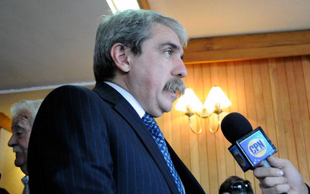 El Senador Anibal Fernández - Foto: OPI Santa Cruz/Francisco Muñoz