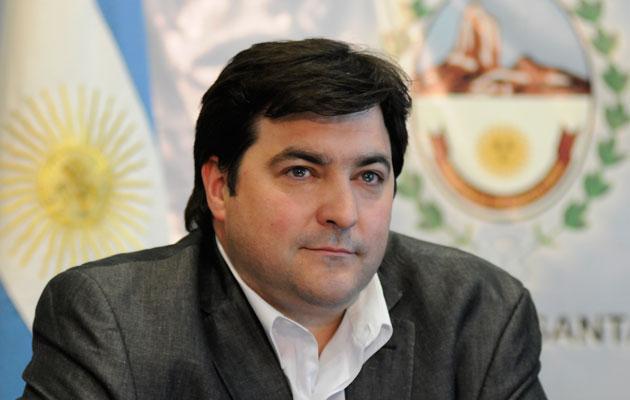 El Ministro de Economía Ariel Ivovich - Foto: OPI Santa Cruz/Francisco Muñoz