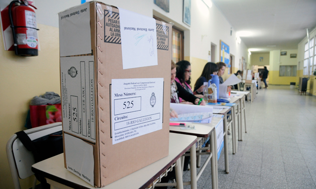 Las elecciones primarias agosto 2013 - Foto: OPI Santa Cruz/Francisco Muñoz