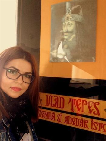 Selfie Vlad Tepes - Turnul Chindiei