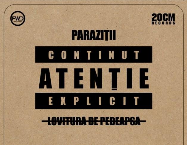 parazitii lovitura de pedeapsa coperta album