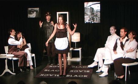 La cantatrice chauve au Theatre du Carre Rond www.sortirenprovence.com