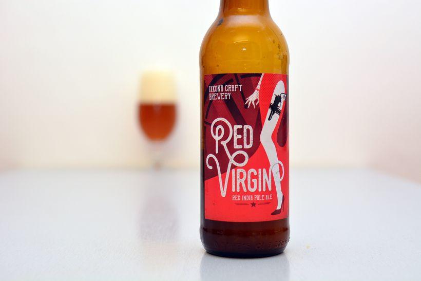 Červená IPA z pivovaru Ikkona (Red Virgin)