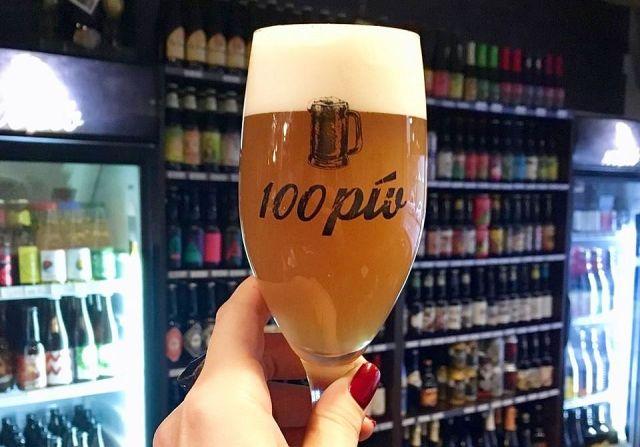 100 pív, Pivný raj, Drinkshop, Medená ulica