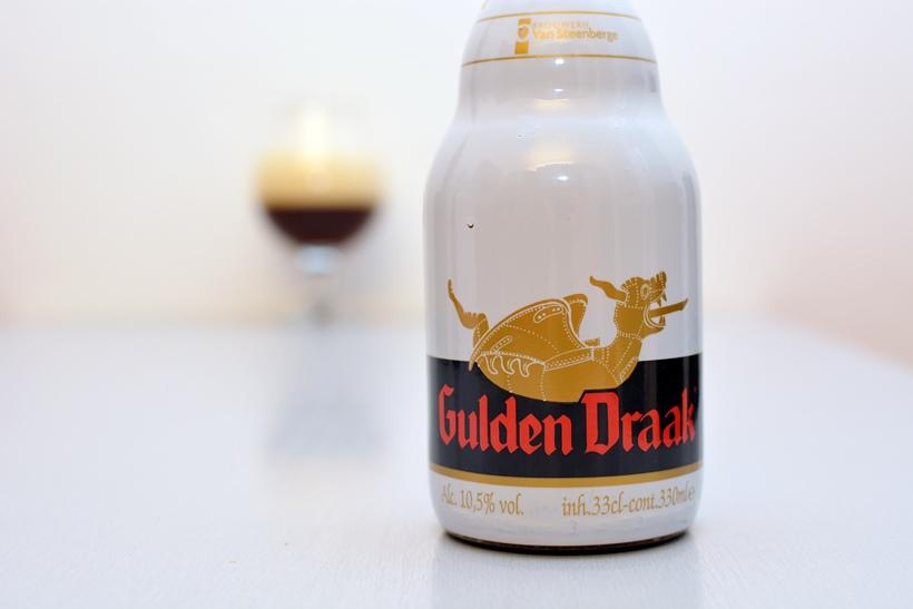 Prvotriedne pivo zo slovenského supermarketu (Gulden Draak)