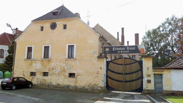 Kout, Kout na Šumavě, pivovar, Wikimedia