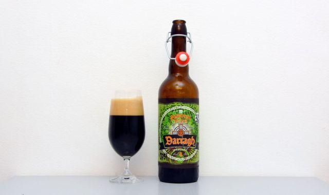 Sweet Stout, Rožnovské piv, Darragh, Stout, české pivo, Českoní lázně,