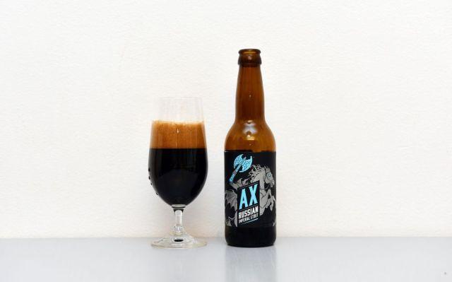 AX - Pivo z poľského pivovari Birbant.
