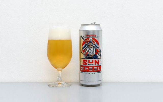 Sun and Steel – Sake Lager by Iron Maiden