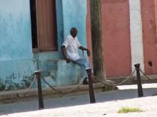 Mann in Camagüey
