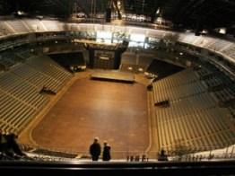 Leere LANXESS Arena