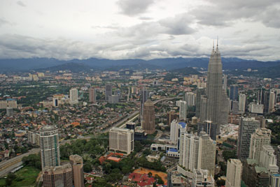 Von oben: Kuala Lumpur