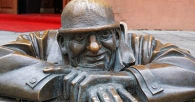 Skulptur in Bratislava