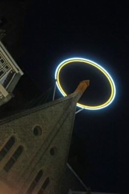 Lichtprojekt in Utrecht