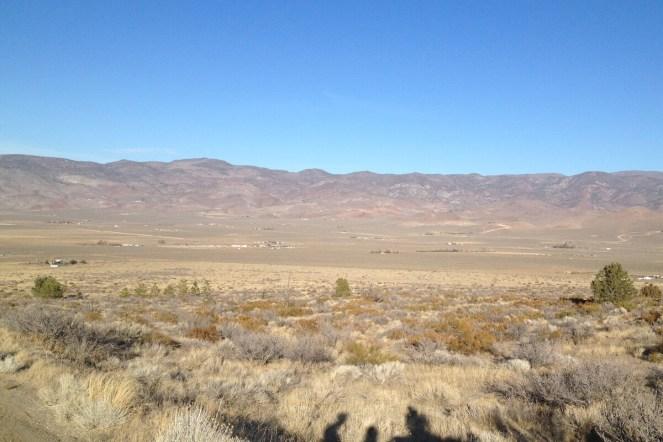 Prärie in Nevada bei Reno