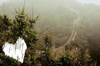 Blick über die Chinesische Mauer
