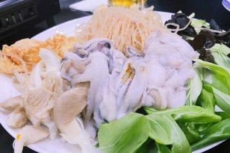 Tintenfisch, Tofu, Pilze und noch mehr