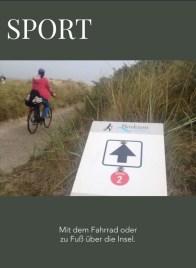 Screenshot digitales Magazin über Borkum