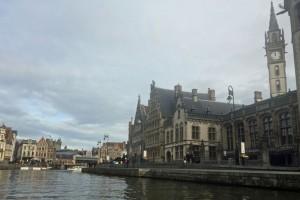 Gent: Blick von der Sankt Michael Brücke
