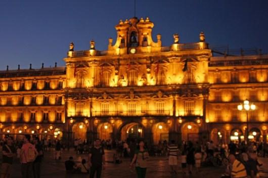 Salamanca nachts