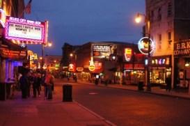 Beale Street nachts