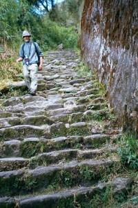 Wanderer auf dem Inka-Trail